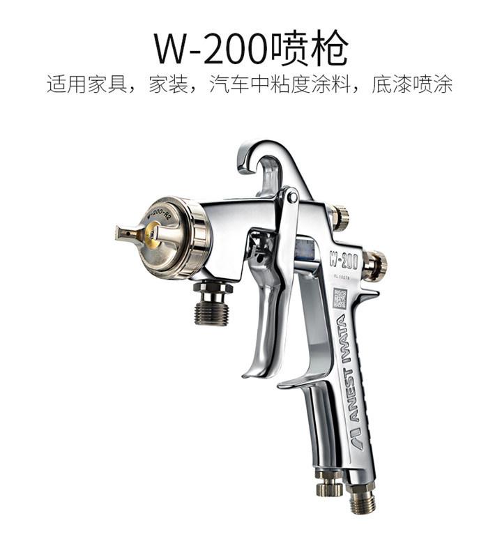 China Original Anest Iwata W-200 Spray Gun W200 Manual