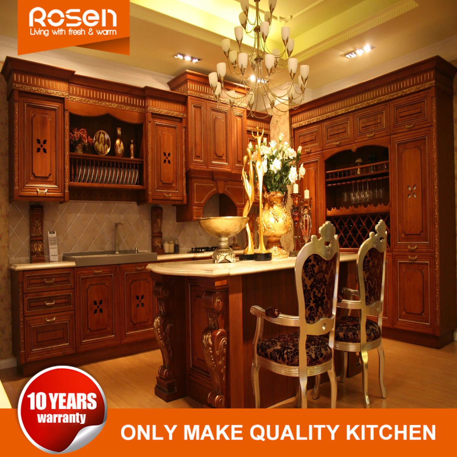 solid wood kitchen sets sink faucets wholesale wooden set buy reliable from antique home furniture cabinet