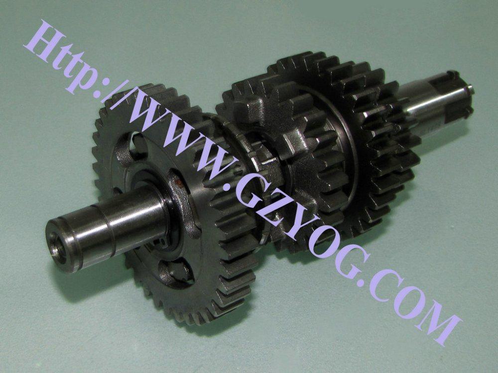medium resolution of yog motorcycle spare parts engine gear box main shaft kit counter shaft complete cg125 150 70cc st90 at110 ybr125 dy100 biz110 gn125 en125hu cgl125 horse