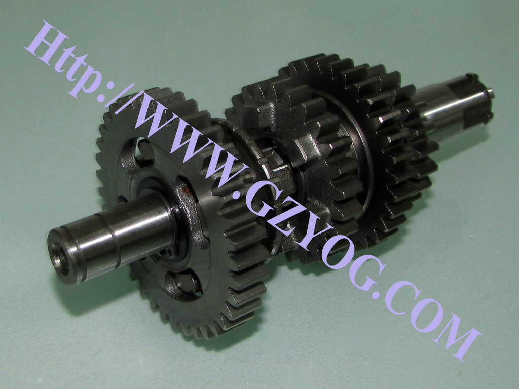 hight resolution of yog motorcycle spare parts engine gear box main shaft kit counter shaft complete cg125 150 70cc st90 at110 ybr125 dy100 biz110 gn125 en125hu cgl125 horse