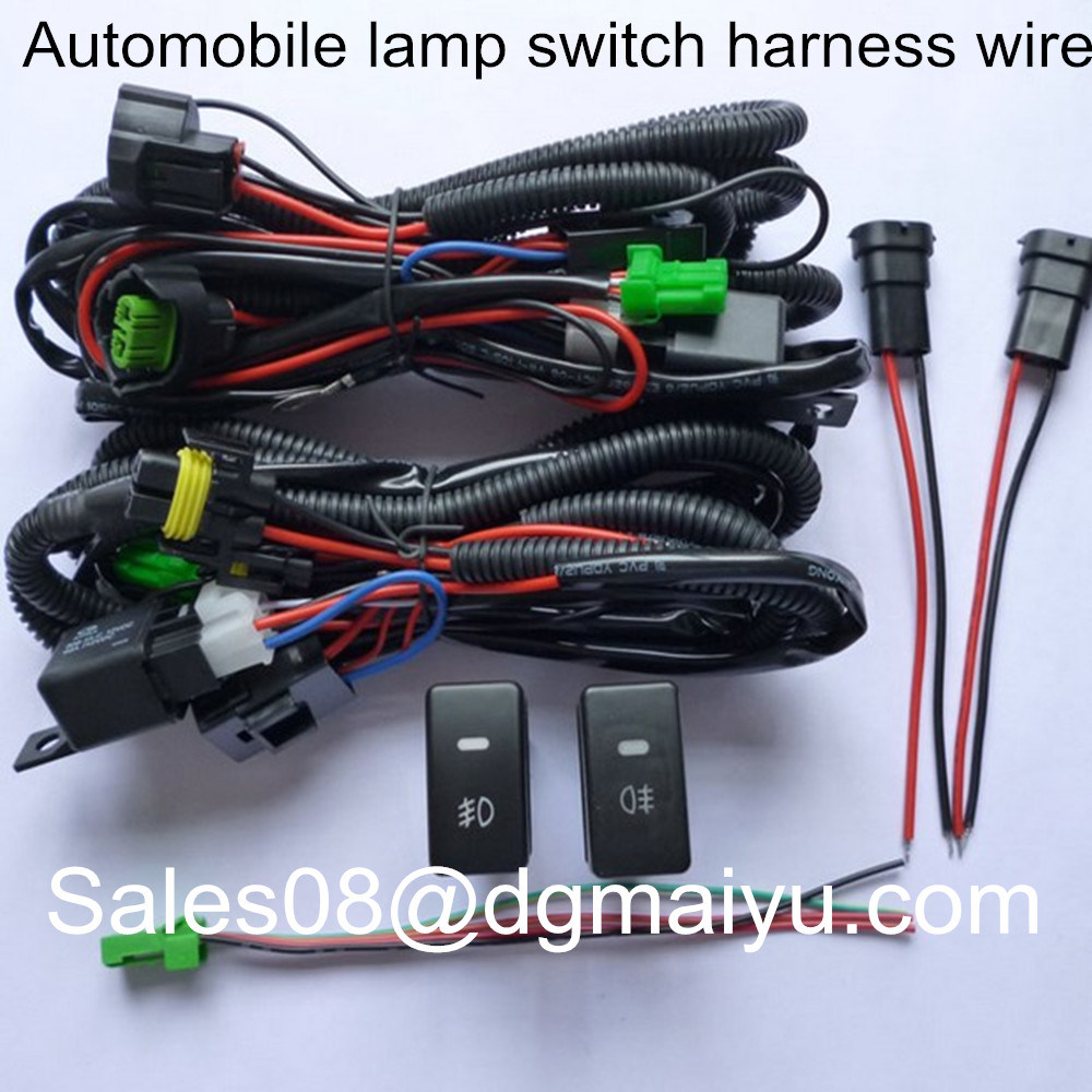 hight resolution of china honda usb accord crosstour modified fog angel eyes fit on line lamp switch wire harness china connector auto parts