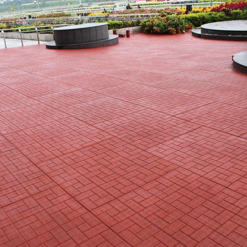 china dog bone rubber patio paver tile