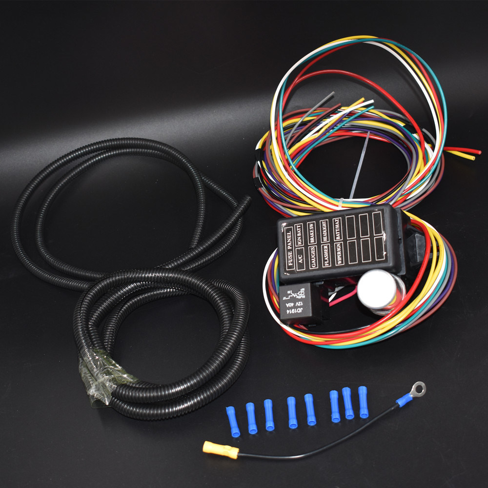 hight resolution of 8 circuit wiring harness trusted wiring diagram 2010 vw new beetle door wiring harness 65 vw