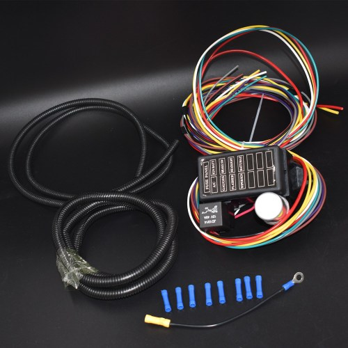 small resolution of 8 circuit wiring harness trusted wiring diagram 2010 vw new beetle door wiring harness 65 vw