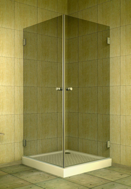 Hot Item Double Hinged Door Opening Shower Cabin Enclosure