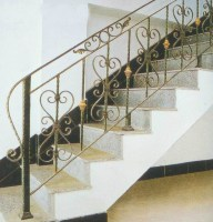China Factory Price House Main Wrought Iron Staircase ...