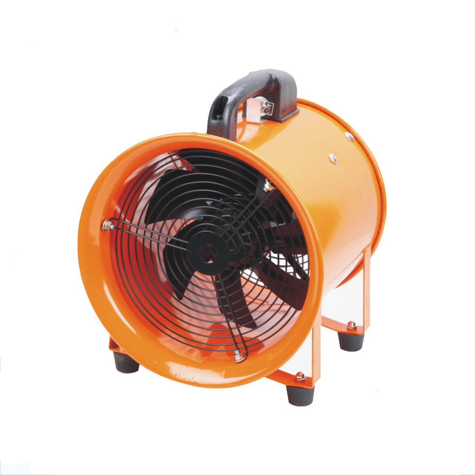 hot item high power industrial 14 portable exhaust fan with 5m pvc hose flexible duct