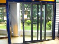 Aluminium Doors: Triple Sliding Aluminium Doors