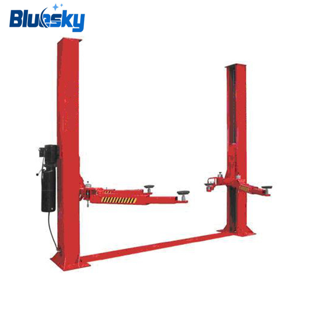 hight resolution of china manual car lift hydraulic 2 post auto lift for sale china automobile lifts car lifting