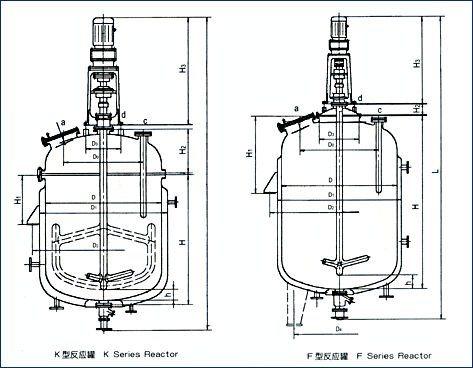 China Fermentation Tank / Jacketed Agitated Reactor