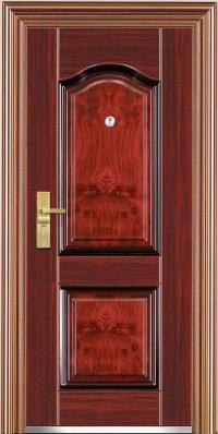 China Steel Security Doors (JC-S6051) - China Steel Doors ...