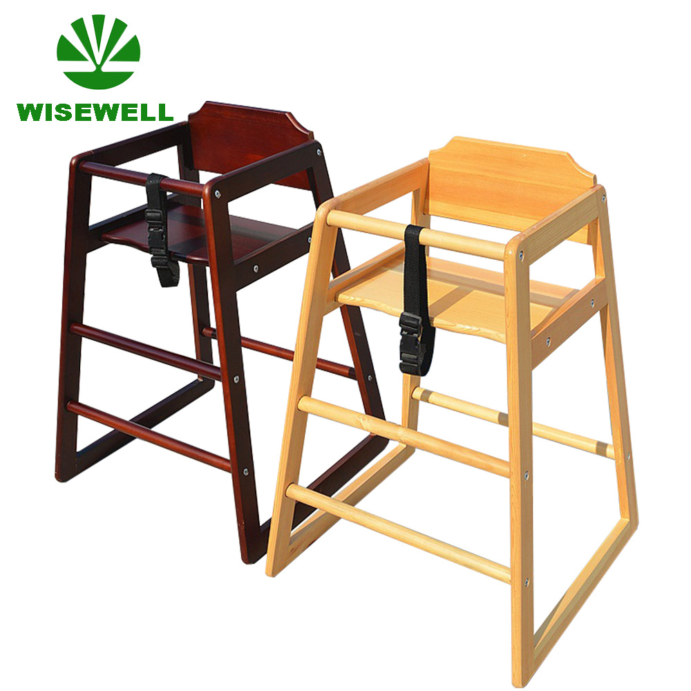 Wooden Baby High Chair Hot Item Wooden Durable High Chair For Baby