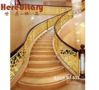 China Grand Luxury Stair Railing Guardrail for High Level