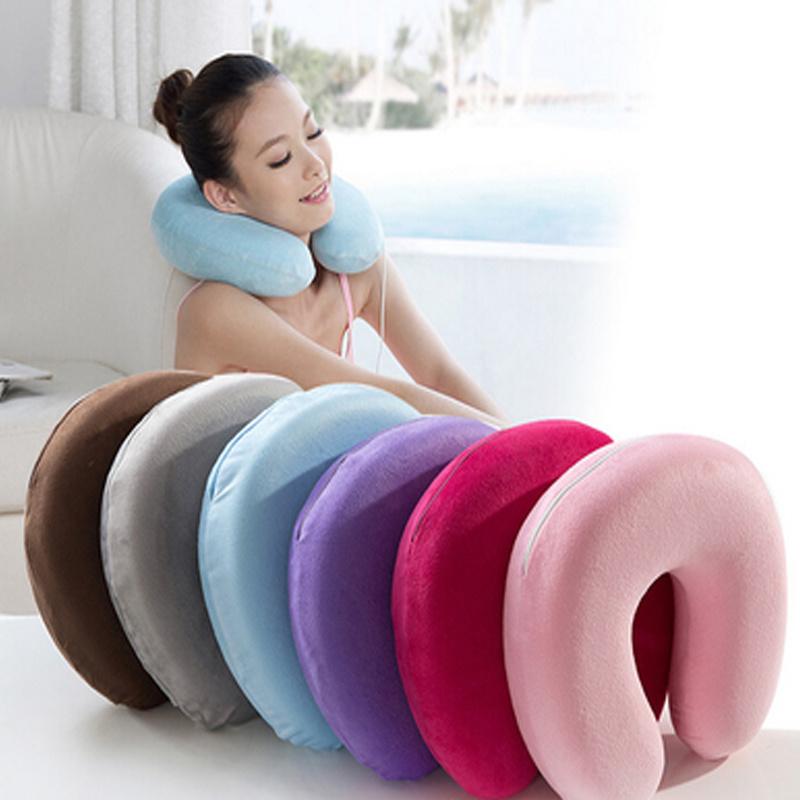china supply memory foam travel neck