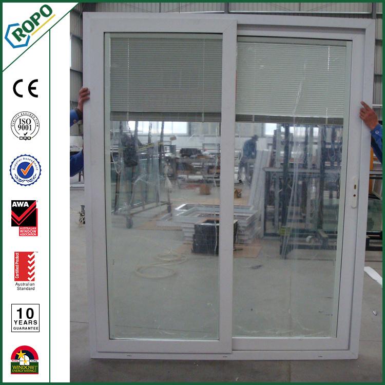 china plastic patio door pvc sliding