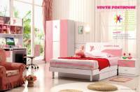 China Youth Bedroom Furniture Set (832) - China Kids ...