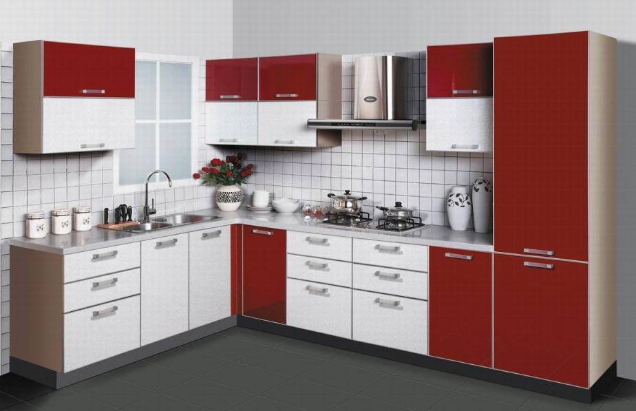 China European Kitchen Cabinet ML010  China Lacquered