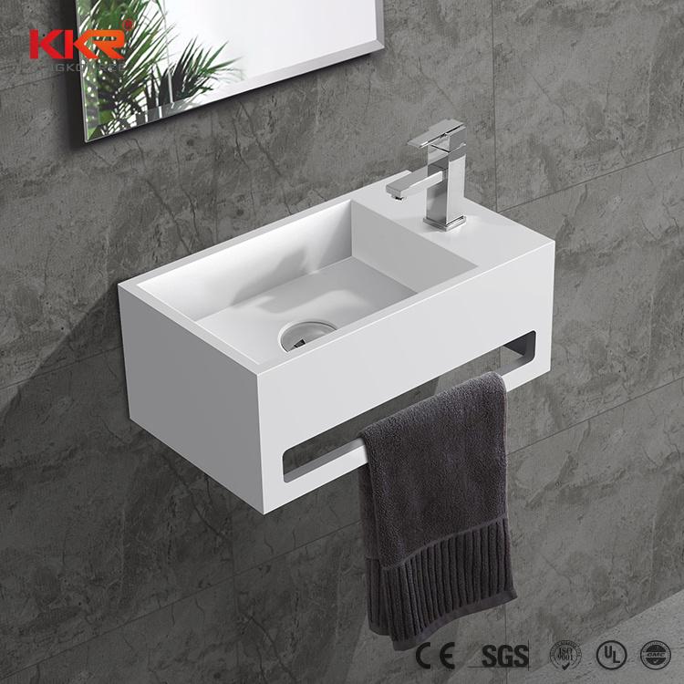 china wall mounted sink mini bathroom