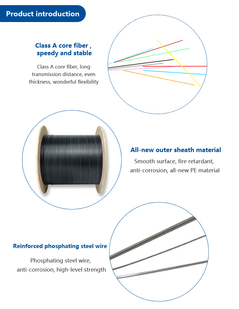 hight resolution of ftth fiber optic cable of 180 core gyty53