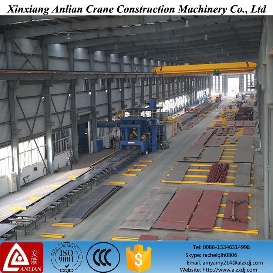 medium resolution of china 5 ton single girder overhead crane with electric hoist china crane machinery
