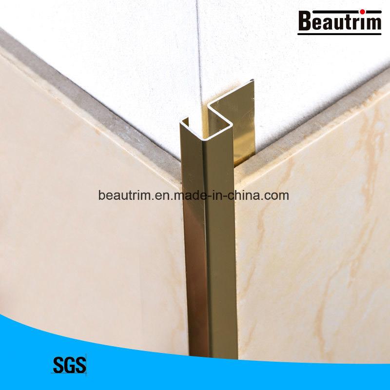 hot item beautrim aluminmun 8mm tile edging trim