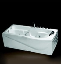 China Whirlpool Jacuzzi Bathtub (SN17BR(L))