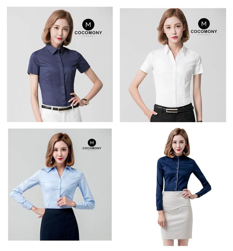 Office Women Casual Blouse Designs Office Wear Uniform