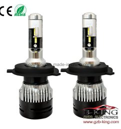 china small size h4 3000lm flip chip led bulbs hi low beam car headlight 6000k with perfect light shape china car led headlight d1 car led light [ 1000 x 1000 Pixel ]