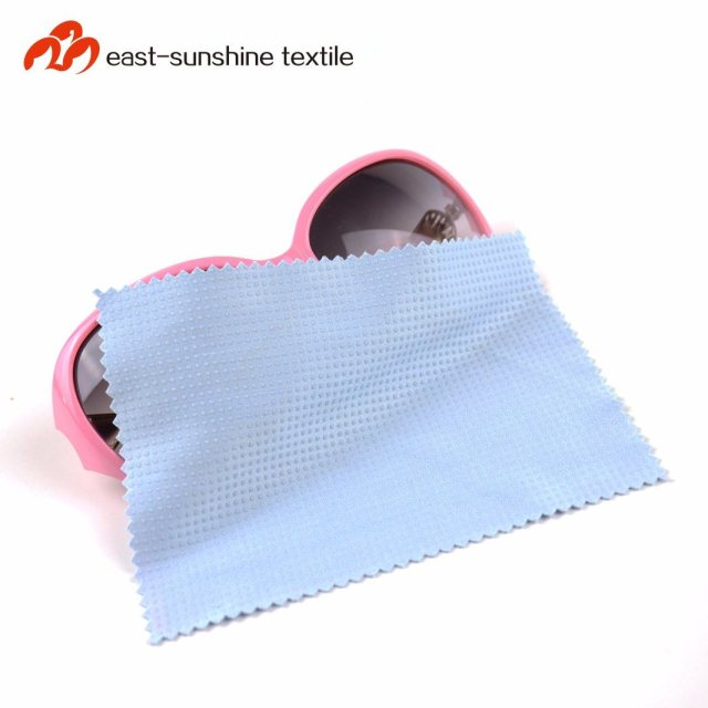 China New Design Silicone Coated Micro Fiber Glass Cleaning Cloth