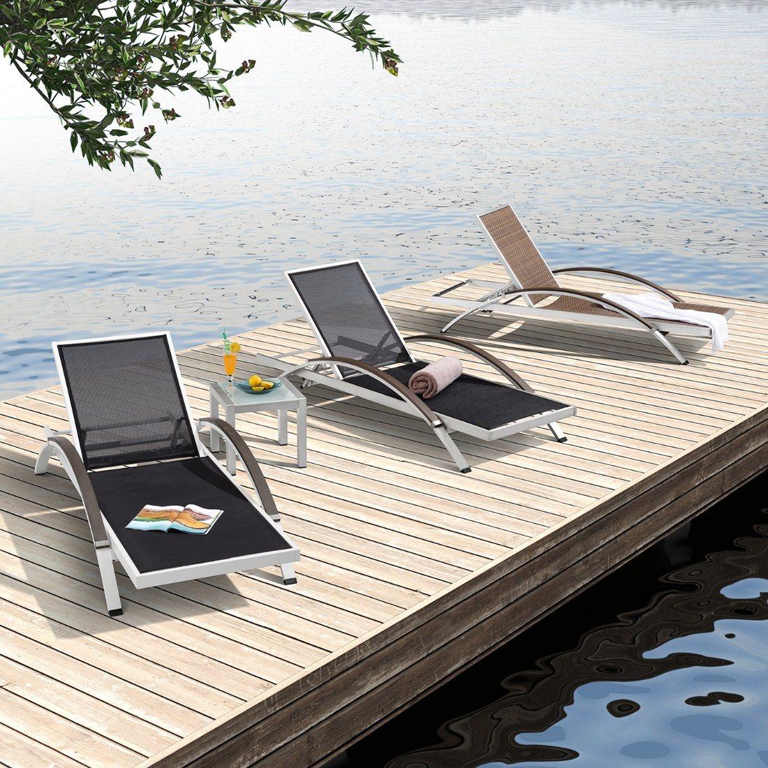 china modern furniture aluminum outdoor