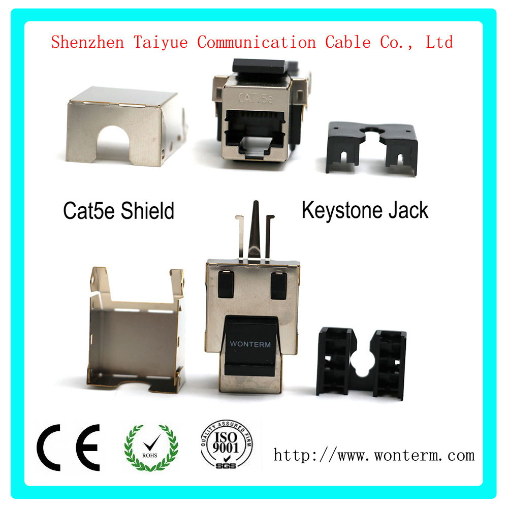 medium resolution of china shield cat5e keystone jacket module connector mactisical rj45 cat 5e ethernet module lightning proof in line couplers china cat6 keystone jack
