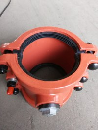 China Pipe Repair Clamp P160X200, Pipe Coupling, Pipe Leak ...