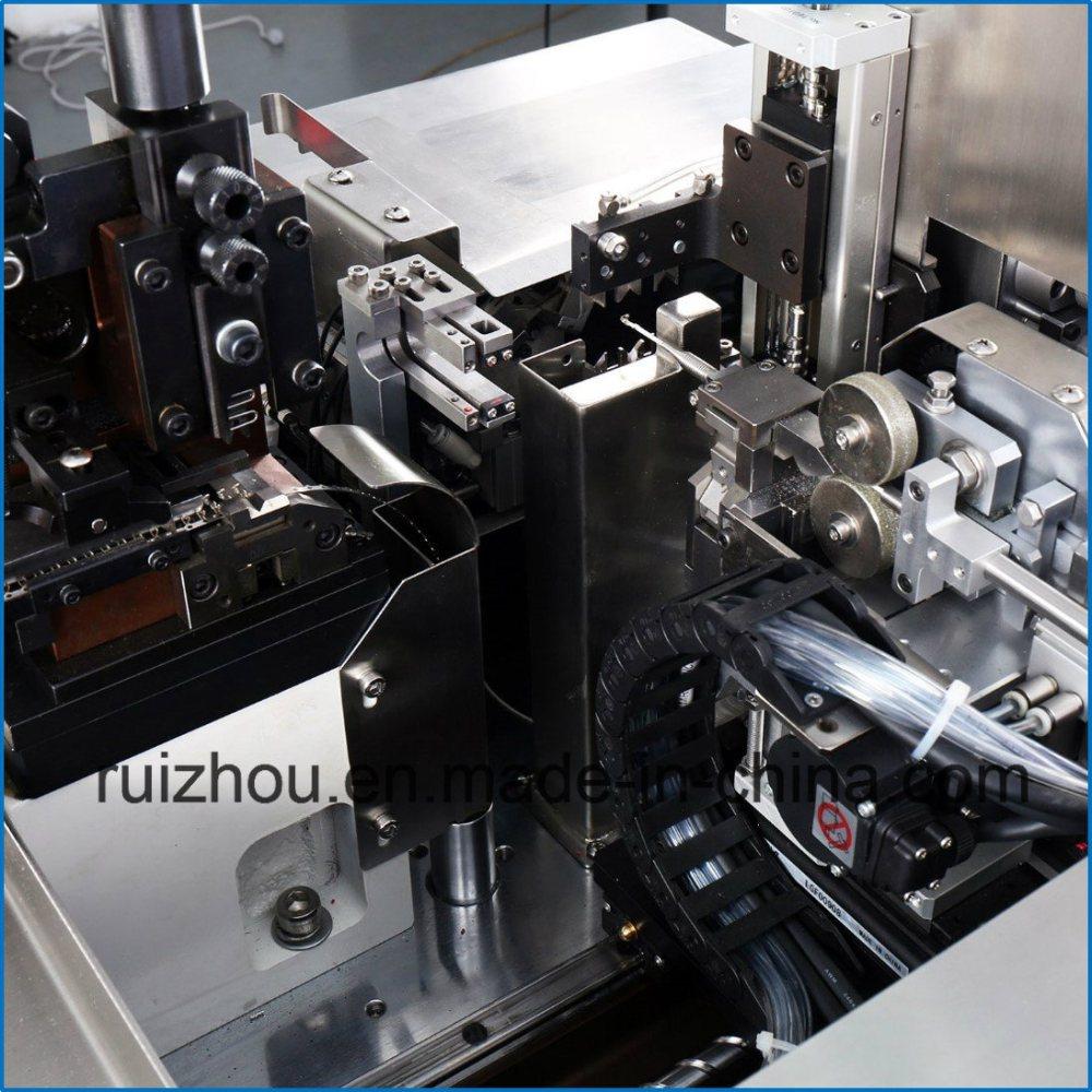 medium resolution of rzt wire harness cutting stripping twisting crimping tinning machine