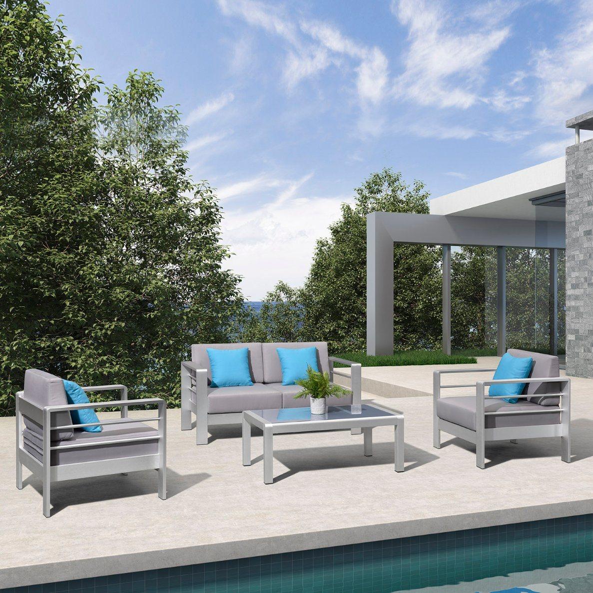 china aluminum patio furniture outdoor