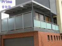 China Glass Handrail/Glass Balustrade Balcony Handrail