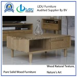 China Modern Living Room Furniture Set Unique Solid Wood Top Rectangle Coffee Table Tea Table End Tables Photos Pictures Made In China Com