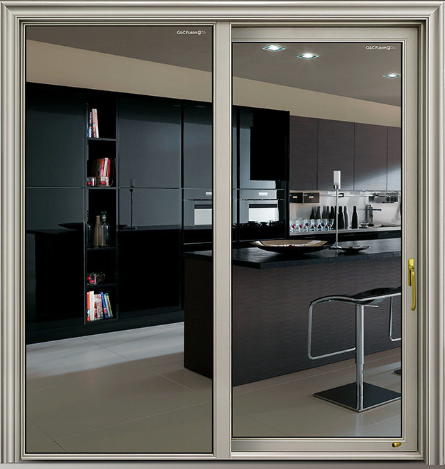 China Latest Door Design Aluminium Interior Kitchen Sliding Doors Photos Pictures Made In China Com