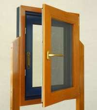 China New Design Wood Aluminum Composite Windows Combined ...