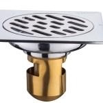 China Bathroom Floor Shower Drain Strainer Anti Clogging Odour Proof China Bathroom Accessory Floor Drain