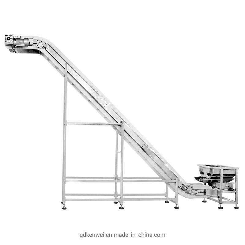 China Bucket Elevator Belt Conveyor Screw Conveyor Incline