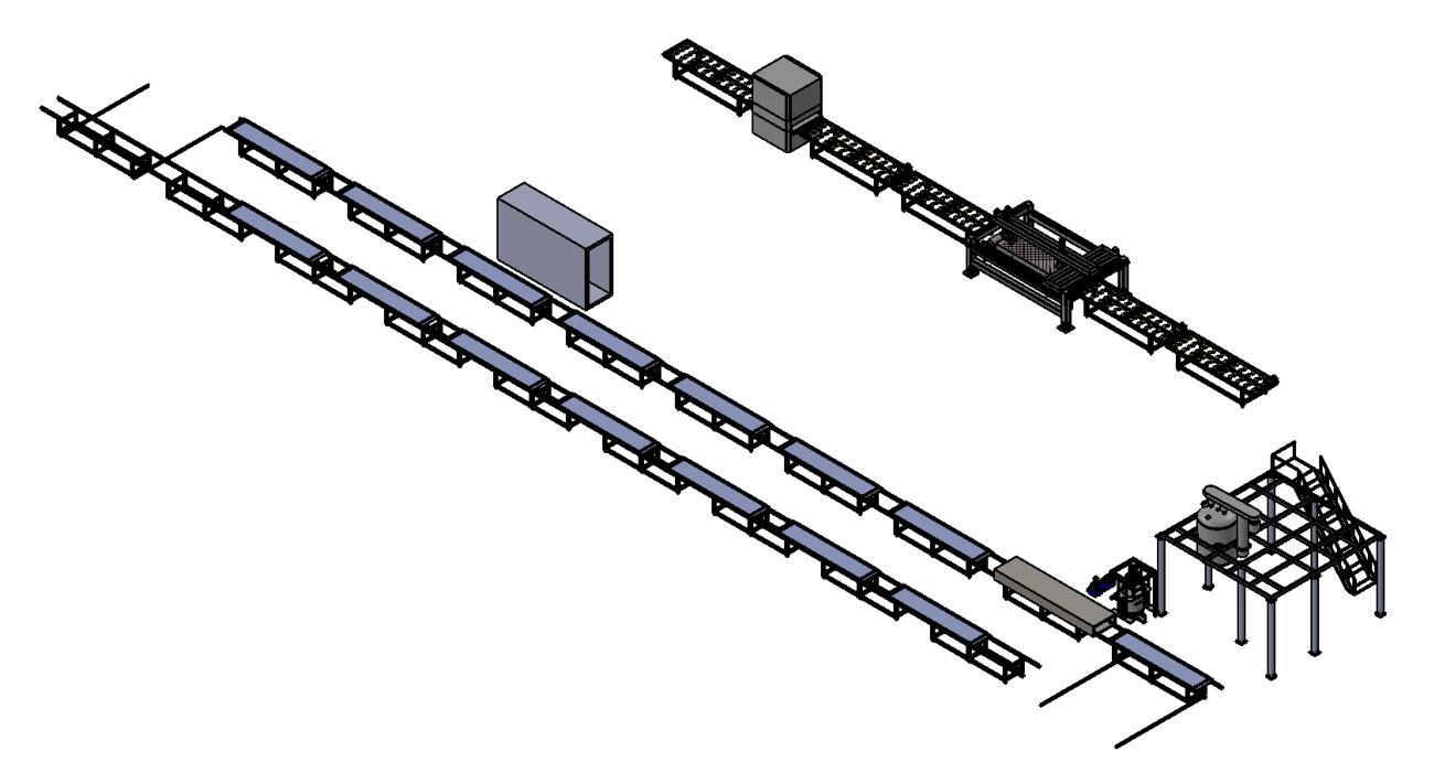 China Jinlu Manual Acrylic Solid Surface Machine Line of