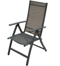 China Adjustable Patio Sling Folding Chair - China Garden ...