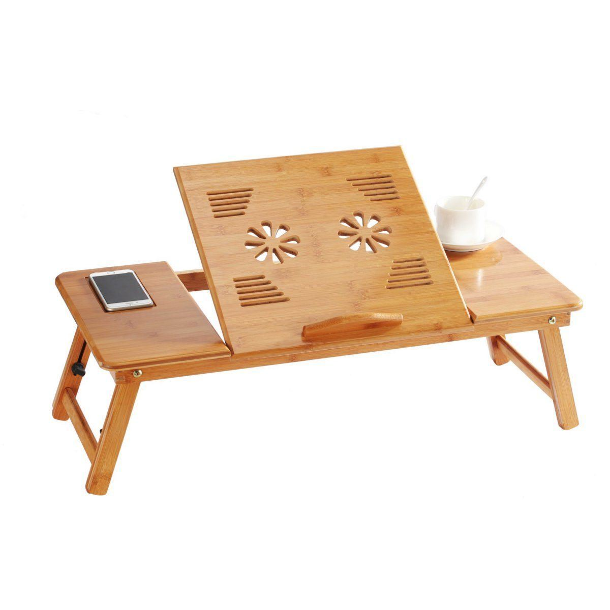 70cm Foldable Folding Lap Desk Bamboo Laptop Bed Table Stand Tray Desk Adjustablebt 2204 China Serving Tray Ventilation Holes Made In China Com