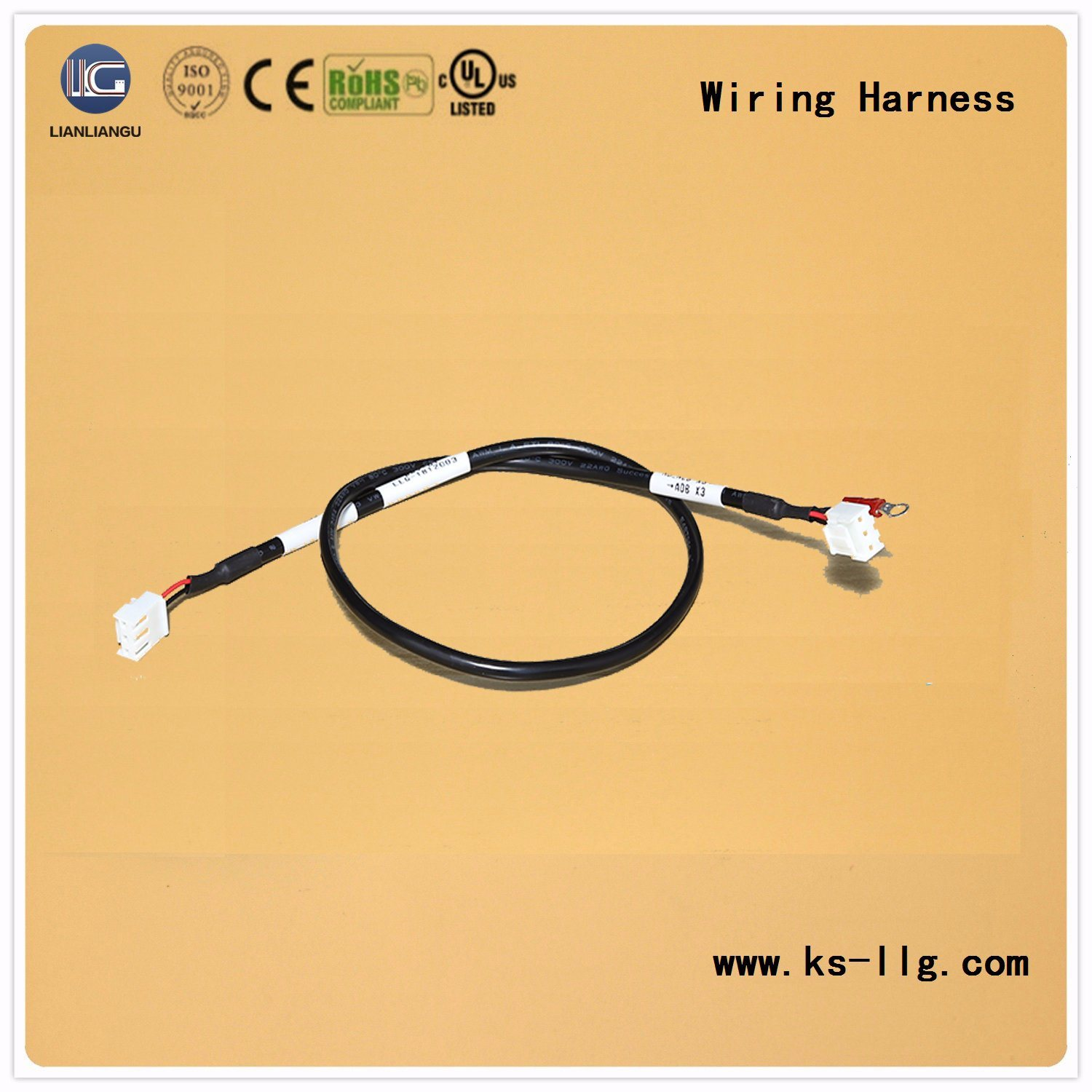 hight resolution of china oem wiring harness for high frequency electronic descaling instrument china wiring wiring harness