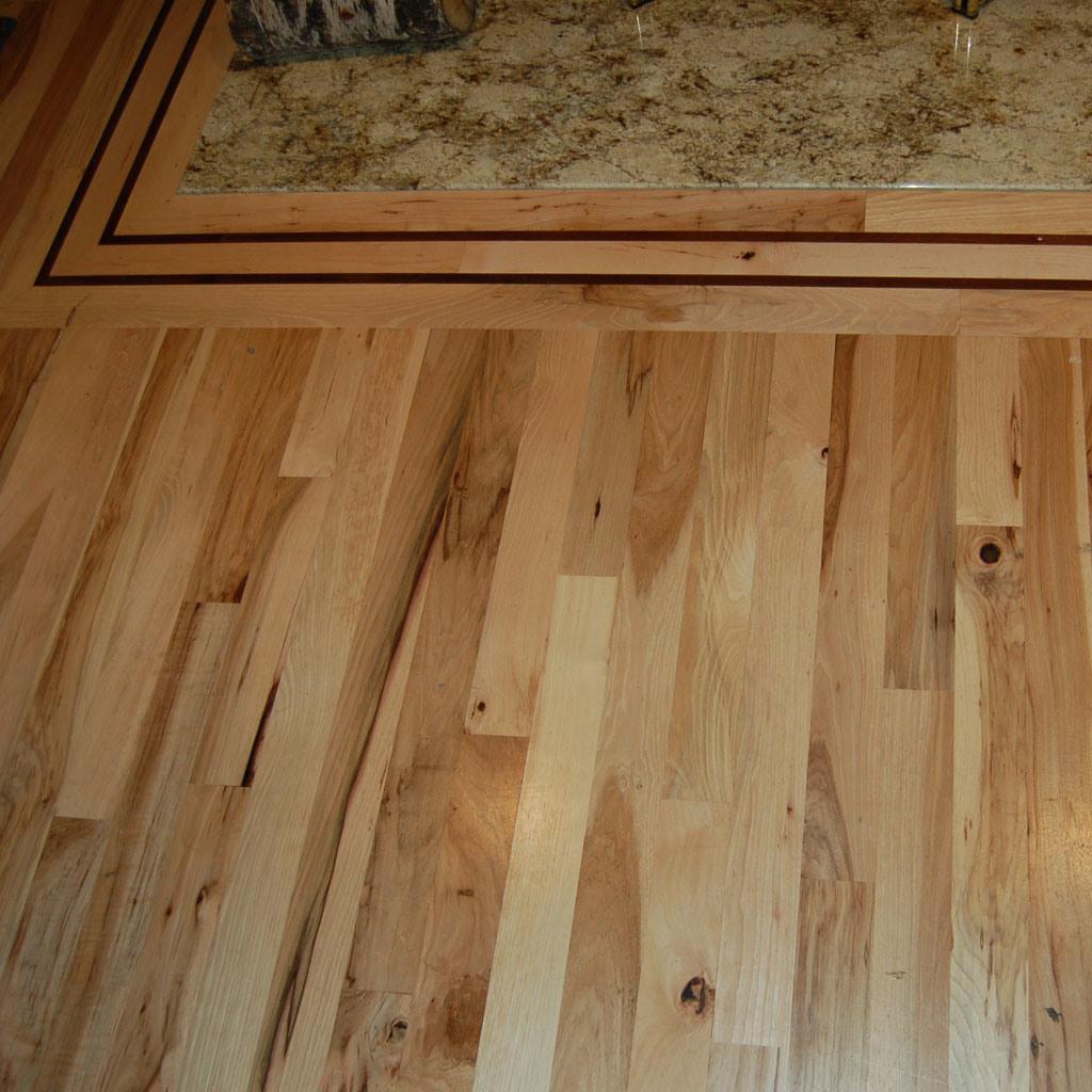 China Hardwood U. S Hickory Flooring