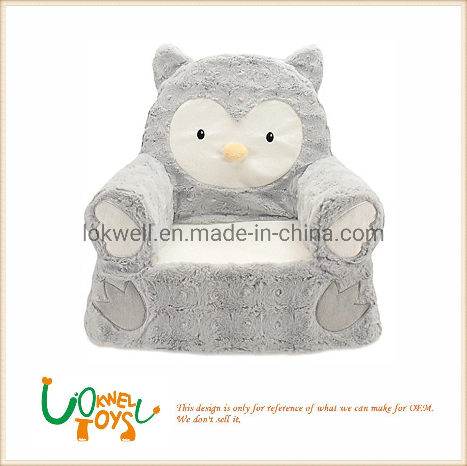 Owl Chair Hot Item Plush Owl Chairs Stuffed Animal Sofa Children Toys