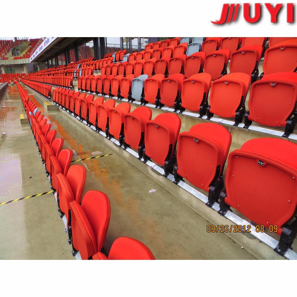 Basketball Chairs Hot Item Blm 4708 Chrome Legs Heavy Duty Football Basketball Stadium Chairs Sports Seating Outdoor Plastic Seats