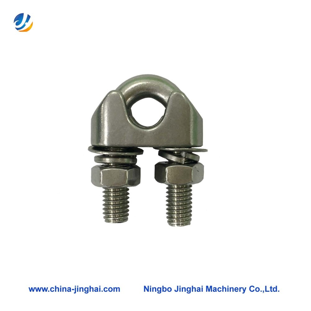 medium resolution of china wire rope clamp of stainless steel ss304 wire lock china wire rope clamp wire lock