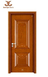 China Housing Interior Decorative Metal Door (SZ