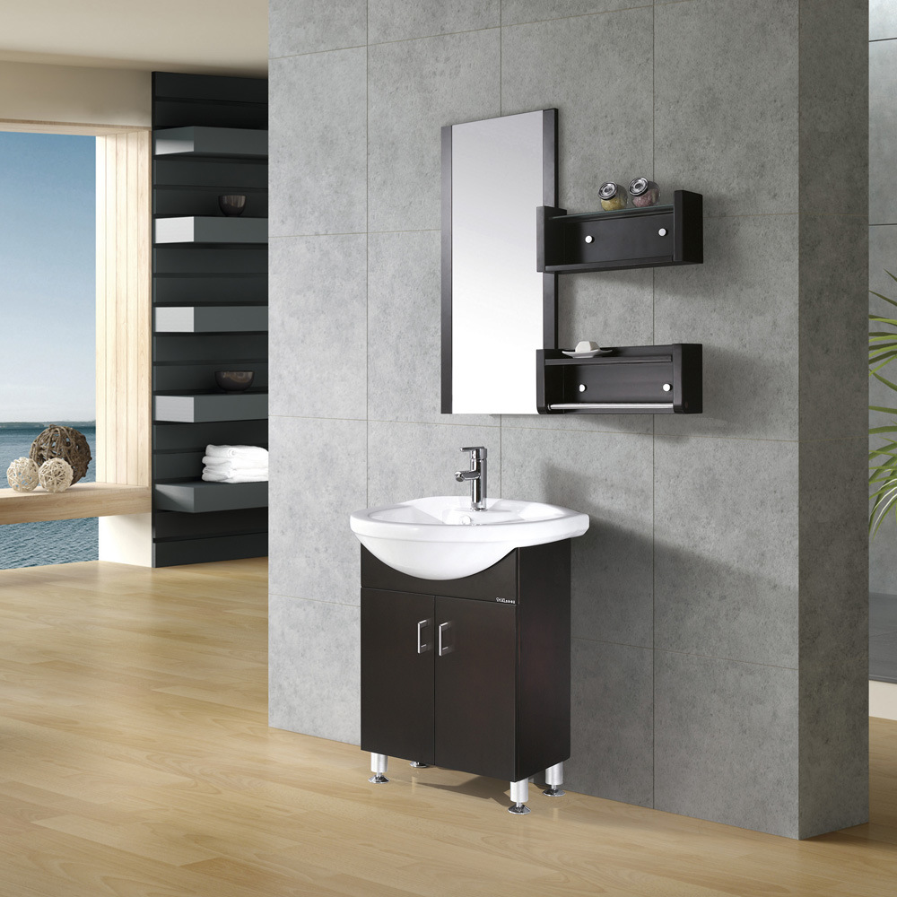 China Espresso Bath  Bathroom Cabinet KL301  China
